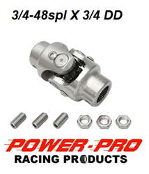 3/4DD X 3/4-48spl RACK STEERING U-JOINT