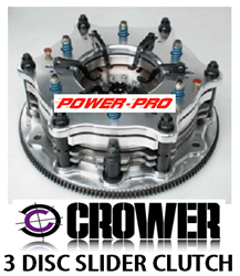 "CROWERGLIDE ALUMINUM 11"" 3 DISC CLUTCHES"