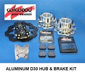 DANA 30 ALUMINUM HUB & BRAKE KIT