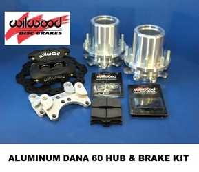 DANA 60 ALUMINUM HUB & BRAKE KIT