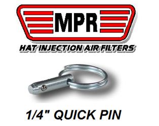 QUICK PIN FOR MPR FILTER ASSEMBLYS