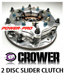 "CROWERGLIDE ALUMINUM 11"" 2 DISC CLUTCHES"
